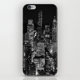When The Lights Go Out iPhone Skin