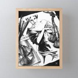 Between Dream & Reality Framed Mini Art Print