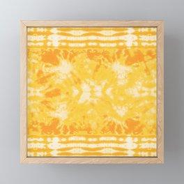 Shibori Beach Sun Framed Mini Art Print