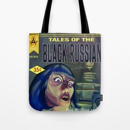 """Tales of the Black Russian"" Book Cover Tote Bag"