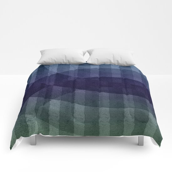 Geometric abstract BG Comforters