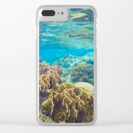 Underwater Ocean Clear iPhone Case