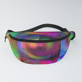 Nine Neon Square Fanny Pack