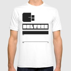 deltree c: Mens Fitted Tee White MEDIUM