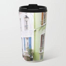 Houses Metal Travel Mug