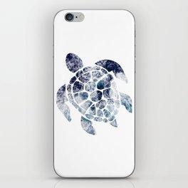 Sea Turtle - Blue Ocean Waves iPhone Skin