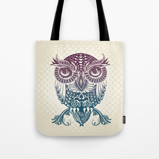 Baby Egyptian Owl Tote Bag