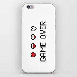 Game Over - Pixels iPhone Skin