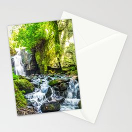 Waterfall. Stationery Cards