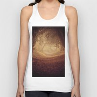 narnia Tank Tops featuring Where's the white rabbit?  by Sparks of Fire