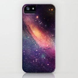 Galaxy colorful iPhone Case