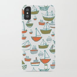 Hey Little Boat iPhone Case