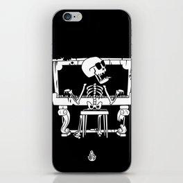 Piano ray iPhone Skin