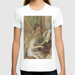 """Auguste Renoir """"Young Girls at the Piano"""" T-shirt"""