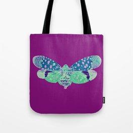 Spotted Lantern Bug Tote Bag