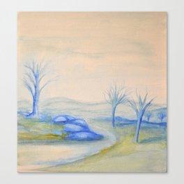 Frigid Escape Canvas Print
