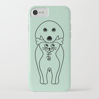 karma iPhone & iPod Cases featuring karma by creaziz