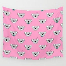 Koala Cuddles Wall Tapestry