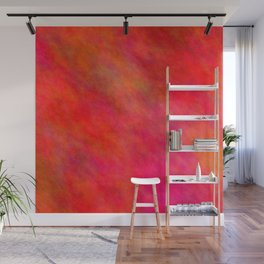 Firebrick Color Wall Mural