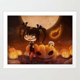Halloween Hysteria Art Print