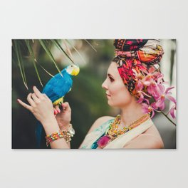 Who you lookin' at? Canvas Print
