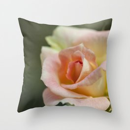Flower Five Throw Pillow