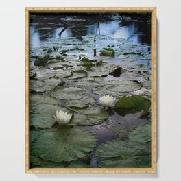 Water Lilies Serving Tray