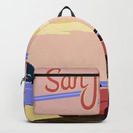 San Junipero Travel Backpack
