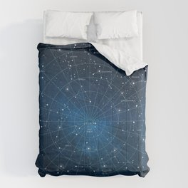 Constellation Star Map Comforters
