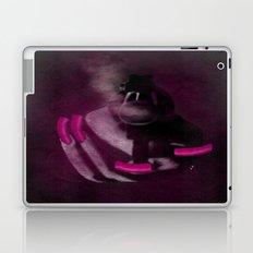 Bang Bang Gun Smoke  Pink Grunge Nails  Laptop & iPad Skin
