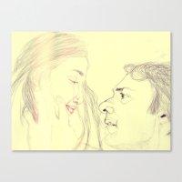 eternal sunshine Canvas Prints featuring Eternal Sunshine by Dev McNeill