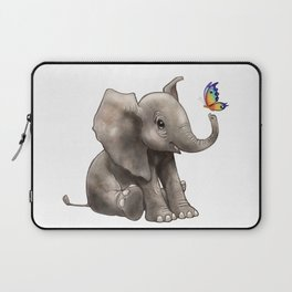 Baby Boo Butterfly Laptop Sleeve