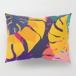 Aloha Floral Pop Art Pattern Pillow Sham