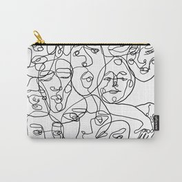 People of Work Carry-All Pouch