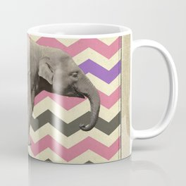 Retro elephant Coffee Mug