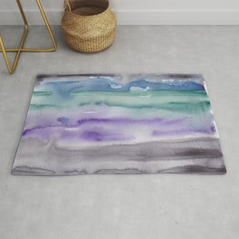 21     190907   Watercolor Abstract Painting Rug