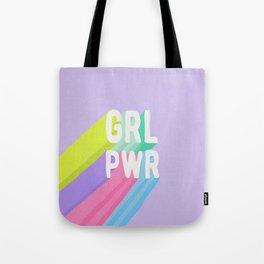 GRL PWR x Purple Tote Bag