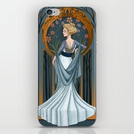 Be Thou Stone No More - Shakespeare Art Nouveau iPhone Skin