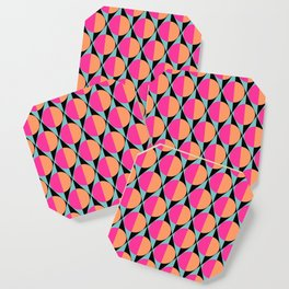 60s abstract pattern Coaster
