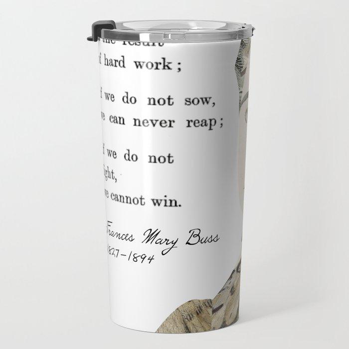 Homage to Frances Mary Buss Travel Mug