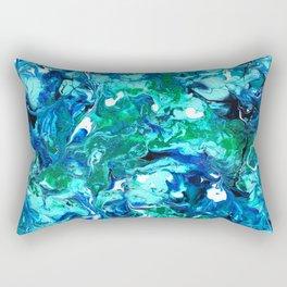 Sea Of Green Rectangular Pillow