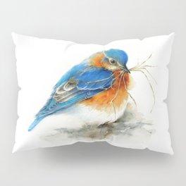 Eastern Bluebird Nesting Pillow Sham