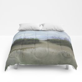 Morning at Tybee Comforters
