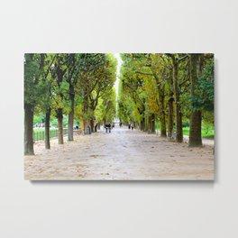 Days Ahead - Jardin des Plantes - Paris France Metal Print