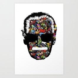 Stan Lee RIP Art Print