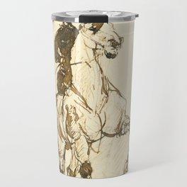 "Henri de Toulouse-Lautrec ""Amazone"" Travel Mug"