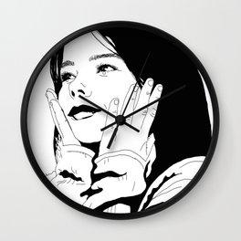 Bjørk - Debut Wall Clock