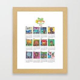 PAINT JAMAICA 2015 Calendar Framed Art Print