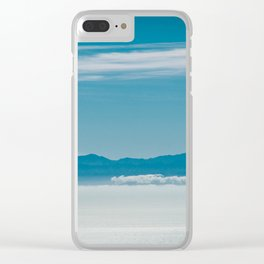Somewhere Over the Clouds Clear iPhone Case
