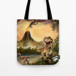 Predator Dinosaurs Tote Bag
